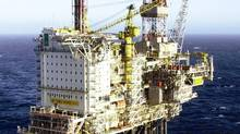 File photo of a Talisman platform in the Norwegian North Sea. (HO/CCN)