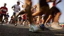 Running a marathon (Spencer Platt/SPENCER PLATT/GETTY IMAGES)
