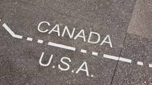 Canada and USA dividing line (Dennis Maloney/Getty Images/iStockphoto)