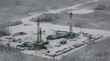 An Encana natural gas drill rig in B.C. (David Ebner/The Globe and Mail)