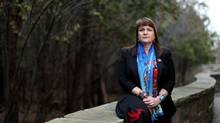 Dawn Lavell-Harvard, president of Native Women's Association of Canada, issued a letter of resignation Thursday. (Dave Chan For The Globe and Mail)