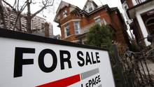 A house is seen for sale on the real estate market in Toronto, April 9, 2009. It will be hard to create a national housing strategy because Canada doesn't have a national problem. It has a patchwork of often conflicting regional challenges. (© Mark Blinch / Reuters)