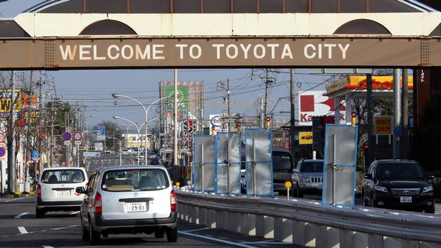 Toyota City How It Became Japan S Detroit The Globe And