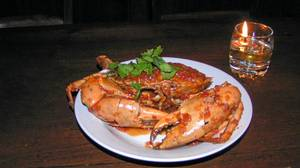 The chili crab is one of the highlights at Batan Waru.