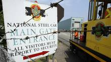 National Steel Car's facility in Hamilton is seen in this file photo. (Peter Power/Peter Power/The Globe and Mail)