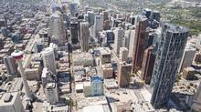 Nearly a quarter of Calgary's office space was vacant as of the last quarter of 2016. (Chris Bolin/The Globe and Mail)