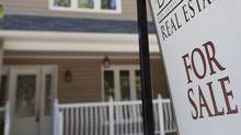 Homes for sale in Toronto's Beach area June 13, 2012. (Moe Doiron/The Globe and Mail)