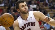 Toronto Raptors forward Andrea Bargnani (Frank Gunn/CP)