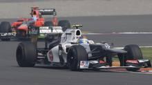 Sauber reserve driver Esteban Gutierrez of Mexico (Mark Baker/The Associated Press)