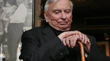 Gore Vidal visits Toronto as part of the Luminato Festival, June 5, 2007. (Arantxa Cedillo For The Globe and Mail)