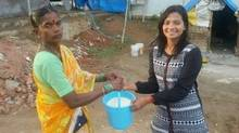 """Brilliant Alternative to 'Ice Bucket Challenge'. Buy one bucket of rice and feed the needy,"" wrote Darmesh Joshi on Twitter (@jyotishonline/Twitter)"