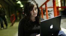 Carleton student Tina Esmaeili: 'I don't really trust random websites … because I don't know where the show is streamed from.' (Blair Gable/© 2010, Blair Gable Photography)