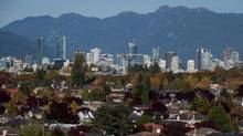 The Vancouver skyline. (DARRYL DYCK For The Globe and Mail)