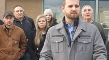 Derek Fildebrandt, shown in Strathmore, Alta., on Jan. 26, 2015, calls Alberta's appointment of a former AUPE negotiator 'a gross conflict of interest.' (Bill Graveland/The Canadian Press)