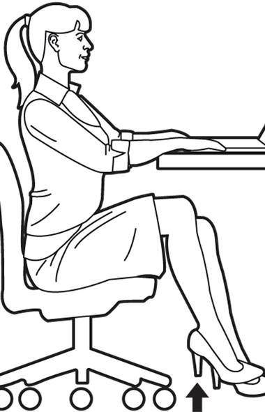 Sit up straight and align your shoulders over your hips. Make sure your upper body is not rotated. Take note of the position of your pelvis, spine, shoulders and head. Hover your right leg over the floor without moving your upper body. (The Globe and Mail)
