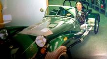 Peter Cheney, pictured, loves the Caterham Seven. His wife isn't impressed by the lack of doors, radio, and side windows - or space for the family. (Courtesy of Marian Cheney)
