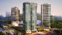 Rogers Towers architectural rendering of a proposed downtown Vancouver development. (Courtesy of Aquilini Development and Construction Inc.)