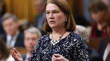 Health Minister Jane Philpott answers a question during Question Period in the House of Commons in Ottawa on March 9, 2017. (PATRICK DOYLE/THE CANADIAN PRESS)