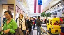 Shoppers make their way through the Walden Galleria mall in Buffalo, New York, in this file photo. (JENNIFER ROBERTS For The Globe and Mail)
