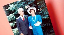 Windsor, Ontario ---15/08/09--- John and Phyllis Hallett pose in a photograph at their daughter Karlene Baert's wedding..GEOFF ROBINS The Globe and Mail (GEOFF ROBINS/GEOFF ROBINS/THE GLOBE AND MAIL)