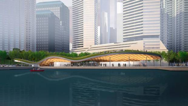 Winning design announced for new toronto islands ferry for Design consulting toronto