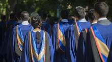 Every year, more than 250,000 people graduate with a bachelor's degree in Canada, but we've reached a point where there is arguably an oversupply of bachelor-degree holders and an undersupply of entry-level work. (Fred Lum/The Globe and Mail)