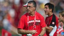 Geraint John, head coach of the Canada's rugby men's sevens team. (Ian Muir/RugbyCanada)