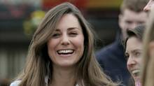 Kate Middleton attends the Cheltenham Festival in Gloucestershire, western England in this March 16, 2007 file photograph. (EDDIE KEOGH/EDDIE KEOGH/REUTERS)