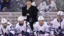 The issue is not only the coach. The issue is the Leafs built their team around Kessel, Phaneuf and not much else (Marianne Helm/Getty Images)