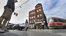 Streetcar Developments has purchased the building best known as the site of Jilly's. (Fred Lum/The Globe and Mail)