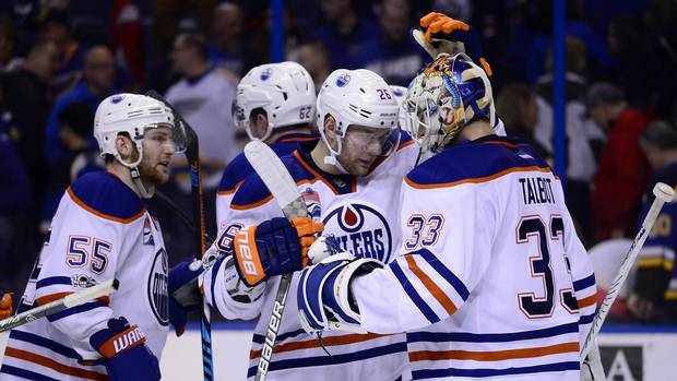 Oilers End Six-game Road Trip With Win Over The Blues