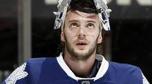 Are the fortunes of goaltender Jonas Gustavsson and the Toronto Maple Leafs up for a change? (Photo by Abelimages/Getty Images) (Abelimages/2011 Getty Images)