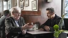 Fading Gigolo, starring Woody Allen (left) and John Turturro, is among the films being snapped up in distribution deals at the 2013 Toronto International Film Festival. (JoJo Whilden/AP)