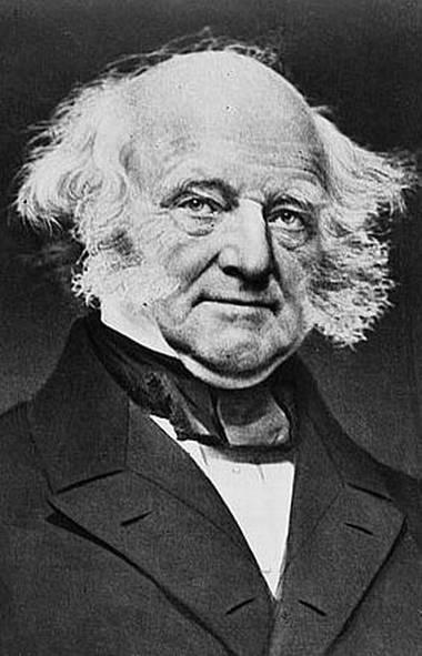 U.S. president Martin Van Buren.