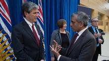 B.C. Auditor-General Carol Bellringer said she called Advanced Education Minister Andrew Wilkinson, the minister responsible for the ad program, to her office for a meeting this week after viewing the government's ad campaign highlighting the budget surplus. (DARRYL DYCK For The Globe and Mail)