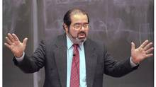 Justice Antonin Scalia lectures at the University of Kansas School of Law on Oct. 3, 1996. (AP)