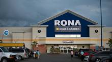 Home and garden centre Lowe's has put in a bid for ownership of its currently Canadian-owned competitor, Rona. (Galit Rodan/The Globe and Mail)