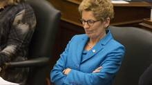 Ontario Premier Kathleen Wynne attends question period at Queen's Park in Toronto on Tuesday, April 1, 2014. (Chris Young/The Canadian Press)