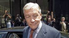 Conrad Black is shown leaving Federal Court on July 23, 2010, in Chicago. (Ryan Remiorz/RYAN REMIORZ/THE CANADIAN PRESS)