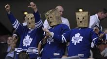 How are the Maple Leafs just like bad mutual fund managers? They both underperform and yet we still stay loyal, says one blogger. (MIKE CASSESE/Reuters)