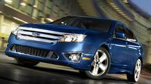2011 Ford Fusion (Ford/© 2010 Ford Motor Company)