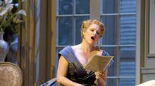 Erin Wall as The Countess in Pacific Opera Victoria's production of Richard Strauss's Capriccio.