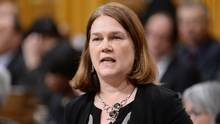 Health Minister Jane Philpott answers a question in the House of Commons in Ottawa on April 11, 2016. (Adrian Wyld/THE CANADIAN PRESS)