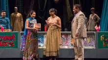From left, Shelly Antony, Shruti Kothari, Farah Merani and Sugith Varughese star in Little Pretty and The Exceptional, a play about how even the best laid plans can be derailed by mental illness. (JOSEPH HOWARTH)