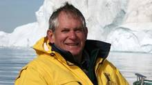 Dr. Angus Bruneau from Greenland in 2005. (The Bruneau Family)