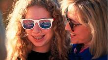 "AWKWARD FAMILY PHOTOS: ""Thank you @BuzzFeed for reminding me of my awkward yrs,"" tweeted @ChelseaClinton, this after viral-news website Buzzfeed regurgitated an ""adorkable"" snapshot of 12-year-old Chelsea during her father's presidential campaign – braces, ringlets, sassy sunglasses and all."