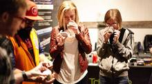 People learning to be marijuana sommeliers at the Trichome Institute, a cannabis education company in Denver, Colo. (HO/THE CANADIAN PRESS)