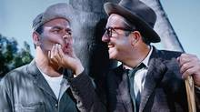 Jonathan Winters, left, and Phil Silvers in It's A Mad, Mad, Mad, Mad World.