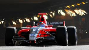 Robert Wickens in Monaco in May, 2011 for the Formula Renault 3.5 Series