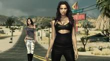 2011 Sports Illustrated swimsuit issue cover model Irina Shayk and model Chrissy Teigen's likenesses will appear in the upcoming video game Need for Speed: The Run. (Electronic Arts)